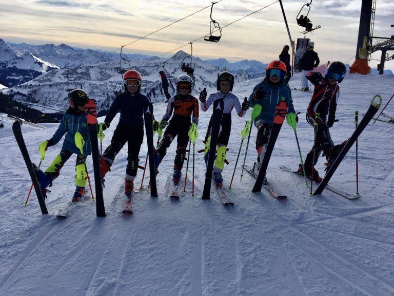Slalomtraining Kinderkader